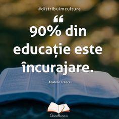 Citatul de astăzi #noisicartile #citate #carti #eucitesc #bookstagram #booklover #igreads #cititulnuingrasa #romania #reading Anatole France, Kids And Parenting, Qoutes, Facts, Thoughts, Words, Instagram Posts, Beautiful, Quotations