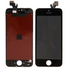 [$58.30] 3 in 1 (New High Quality LCD, Touch Pad, LCD Frame) Digitizer Assembly for iPhone 5(Black)