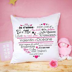 no place like home Crème Toile nouvelle maison cadeau Citation Coussin cadeau de mariage