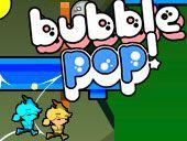 Bubble Pop - http://www.smallgamesbox.com/multiplayer/bubble-pop/