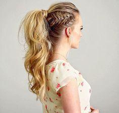 Braids & ponytails