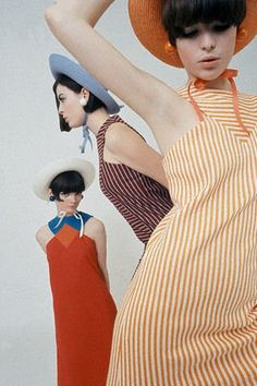 Linda Morand - 1960s fashion model. She was a iconic for fashion at that time with her tomboy look.