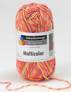 Multicolor Schachenmayr original yarn