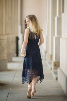 Petite Fashion and Style   ParkerNY Melissa Combo Dress   Click to Read More...
