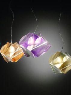 Lentiflex® pendant #lamp GEMMY PRISMA by @Shelley Lampe  #slamp