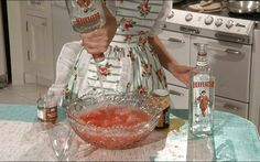 "1950sunlimited: "" bettydraperlookingpissed: "" A dash of gin! "" just a nip """