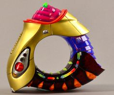 PETER CHANG (born 'German bracelet', multi-coloured acrylic resin and aluminium, made 2006