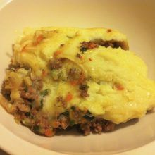 Paleo Version Shepherd's Pie - Living Healthy With Chocolate