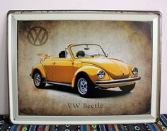 VW Beetls tin poster Vintage signs art wall decorative painting Nostalgic wall hanging painting R-111