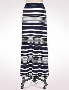 Long modest ankle length maxi skirt from Dress Barn.