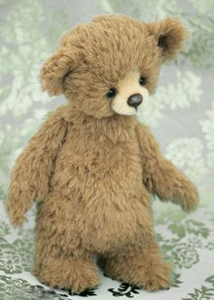 Three O'Clock Bears: Jonas. Bears created by Jenny Johnson. www.threeoclockbears.com