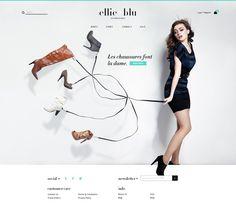WEBDESIGN / Ellie Blu Homepage