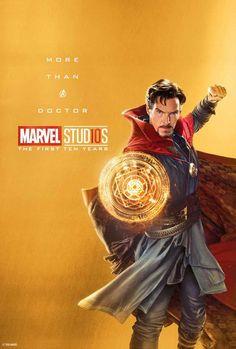 Marvel Studios 10 year anniversary commemorative posters