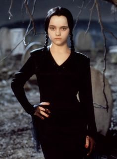 what christina ricci would look like as wednesday in an addams family remake hd wallpaper and background photos of what christina ricci would look like as - Halloween Costumes Wednesday Addams