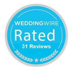 We're up to 31 reviews at WeddingWire - kisses to all the lovely couples who have reviewed us! #weddingcupcakes #cupcakedownsouth