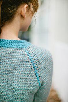 http://www.ravelry.com/patterns/library/utilitarian-sweater Tunisian crochet