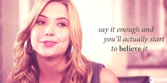 Once in a while, she'll drop a line full of wisdom. | Definitive Proof Hanna Marin Is The Best Pretty Little Liar