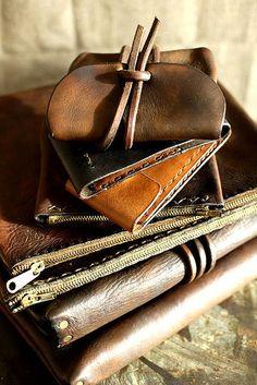 custom leather craft by f, via Flickr