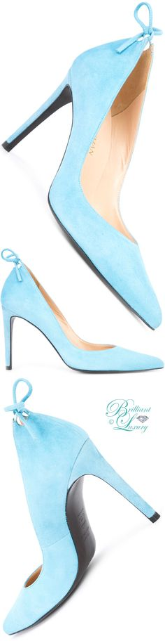 Brilliant Luxury ♦ Stuart Weitzman 'Peekabow' Pumps