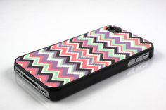 aztec tribal chevron zigzag pattern iPhone 4 case by SunSupplies, $7.99