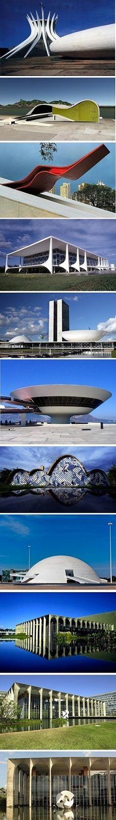 Oscar Niemeyer buildings in Brazil