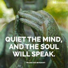 Meditation is an important tool to grow your intuition.