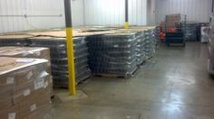 30,000 jars in the warehouse