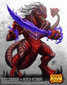 Colossal Kaiju Combat - Shadowheart by KaijuSamurai.deviantart.com on @deviantART