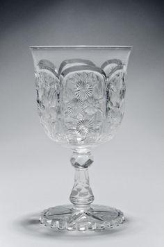 """Dorflinger, 1903, American brilliant cut glass, 6"""", Philadelphia Museum of Art."""