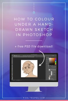 Great for character artists who want to quickly mock up ideas, colouring directly under a sketch in Photoshop will speed your workflow and result in a unique, artistic look. This step-by-step Photoshop tutorial for digital artists covers how to import and treat a sketch for this purpose. The PSD of the subject used for this tutorial is available as a free download. Click through to read the article & download the PSD now!