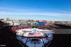 Its hard to pick just one. Obviously the win was amazing! But I'll have to say actually being in the Nationals Stadium My favorite #CapsWinterClassicMoment was when the planes flew over during the National Anthem. @washingtoncaps