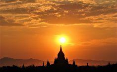 Bagan la vallée des milliers de Temples et Pagodes Myanmar en 2014