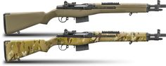 Springfield Armory- New For 2015 M1A SOCOM 16 in Dark Earth and Multicam  I'll take one in each color!