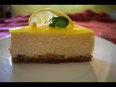 Eggless Lemon Cheese Cake - Bliss Of Cooking
