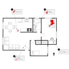 Crime Scene Example Floor Plan Creator, Crime, Floor Plans, Scene, Templates, How To Plan, Stencils, Crime Comics, Floor Plan Drawing