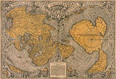 1531 Finaeus Map of the World