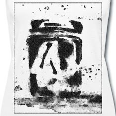 """Loneliness"" #design #tanktop #loneliness #blackandwwhite #ruzaa #spreadshirt #print #art #woman #man #you are mine"