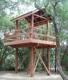 Free Standing Tree House Plans you may need to build a free standing deck if you can't attach a
