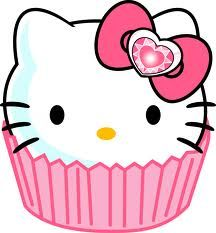 Sweet baby Jesus, it's hello kitty cupcake time <3