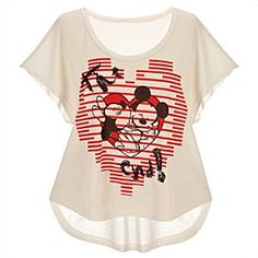 I want this shirt! Love disney :)