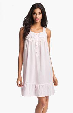 Eileen West 'Enchanted Forest' Short Sleeveless Nightgown