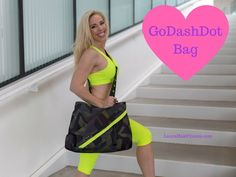 """6 Best Gifts for Your """"Galentines"""" Fitness Friends - This is definitely my favorite go-to bag - for the gym, yoga, diaper bag, and its fashionable, stylish and full of pockets, compartments, and even a smaller bag you can use a a purse! Love this one! :)"""