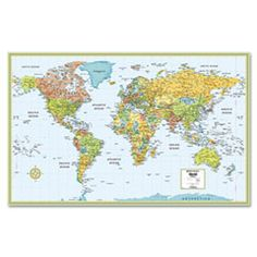 So I have a map about this size which we can put on a wall then put tacks in to mark where we have been and where we want to go! Travel Maps, Travel Plan, Baby Brothers, Brothers Room, Maps M, Map Skills, Wall Maps, World Globes, Study Materials