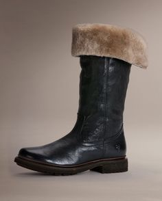 Valerie Pull On Shearling - Women_Boots_Work - The Frye Company