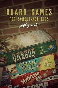 Elementary-Age Board Games Gift Guide -- The best board games for school-age kids (ages 6-12)