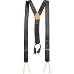 Trafalgar Formal Ascot Stripe Suspenders at Barneys.com