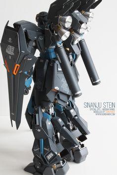 MG Sinanju Stein Ver.Ka Spec Ops Medium Range custom: Work by GundamUK. Photoreview, Info, his interview link too | GUNJAP