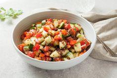 Apple Cider Vinegar Veggie Quinoa Salad