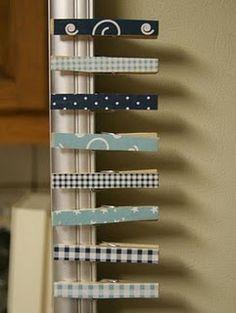 paper clothes pins