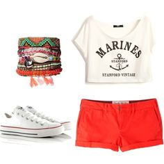 """""""Summer's Coming to Town"""" by beverlyharrison on Polyvore"""